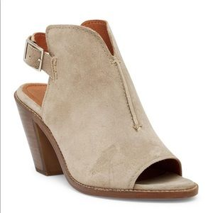FRYE | Courtney Sling Block Heel Sandals Booties